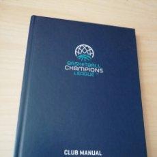 Coleccionismo deportivo: BASKETBALL CHAMPIONS LEAGUE - CLUB MANUAL 2018-19. Lote 252783940