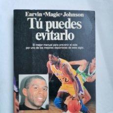 Coleccionismo deportivo: TU PUEDES EVITARLO MAGIC JOHNSON SIDA. Lote 254876795