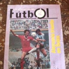 Coleccionismo deportivo: LOS MUNDIALES DEL FÚTBOL, FASCICULO 6. Lote 262067540