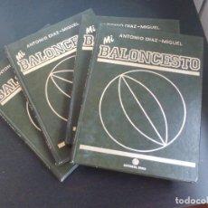 Coleccionismo deportivo: ENCICLOPEDIA MI BALONCESTO DE ANTONIO DÍAZ MIGUEL. Lote 268743149
