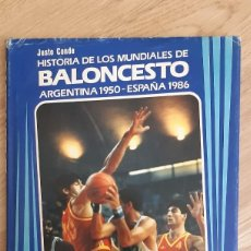 Coleccionismo deportivo: LIBRO DE DEPORTES. HISTORIA DE LOS MUNDIALES DE BALONCESTO. ARGENTINA 1950 - ESPAÑA 1986. BEE. (RF). Lote 269802918