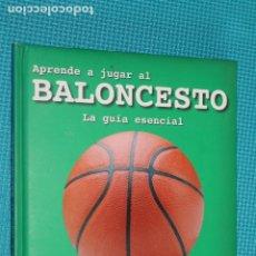 Coleccionismo deportivo: APRENDER A JUGAR AL BALONCESTO, LA GUIA ESENCIAL, APRENDER REGLAS, MEJORA TU JUEGO, DOMINA LAS TECNI. Lote 278817888