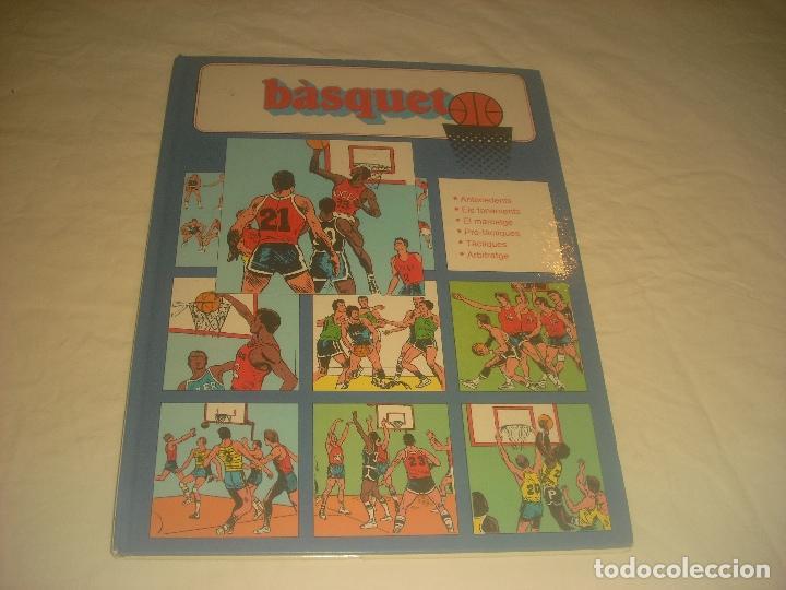 BASQUET N. 1 . ED. MOLINO . EN CATALA . TAPA DURA. (Coleccionismo Deportivo - Libros de Baloncesto)
