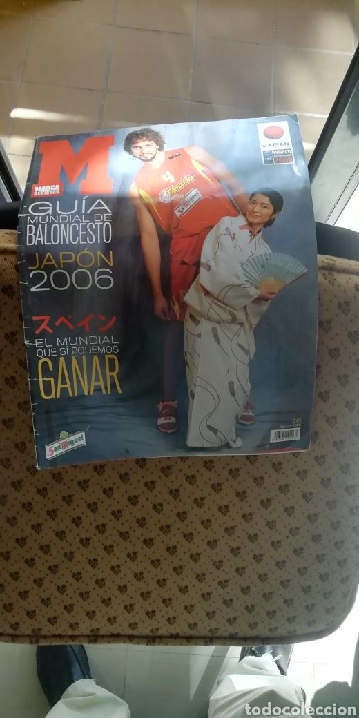 Coleccionismo deportivo: Guía mundial baloncesto 2006. Edita marca - Foto 2 - 288181483