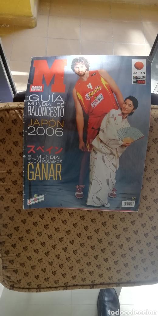 GUÍA MUNDIAL BALONCESTO 2006. EDITA MARCA (Coleccionismo Deportivo - Libros de Baloncesto)
