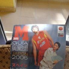 Coleccionismo deportivo: GUÍA MUNDIAL BALONCESTO 2006. EDITA MARCA. Lote 288181483