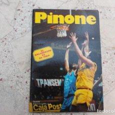 Coleccionismo deportivo: LOS RECORDS DEL BASKET, PINONE, UN OSO EN EL ESTUDIANTES, 1986, 32 PAGINAS, 14 X 21, CON FOTOS. Lote 288628463