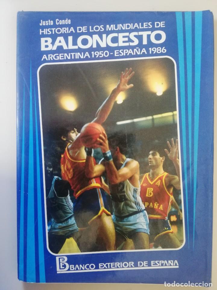 HISTORIA DE LOS MUNDIALES DE BALONCESTO.1950. 1986 (Coleccionismo Deportivo - Libros de Baloncesto)
