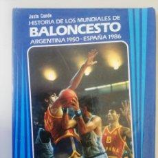 Coleccionismo deportivo: HISTORIA DE LOS MUNDIALES DE BALONCESTO.1950. 1986. Lote 288746993