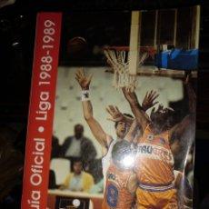 Coleccionismo deportivo: GUÍA OFICIAL LIGA 1988-1989. Lote 292944773