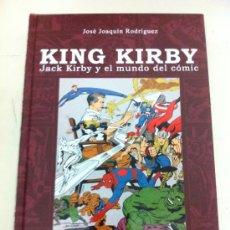 Libros: KING KIRBY. JACK KIRBY Y EL MUNDO DEL COMIC PRETEXTOS DOLMEN - DOLMEN. Lote 36486143