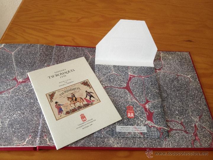 Libros: XIMENEZ. TAUROMAQUIA. 1796. E.D. COM. DE MADRID. MUY ILUSTRADO CON ESTUDIO DE NOTAS ADJUNTO. - Foto 5 - 47964199