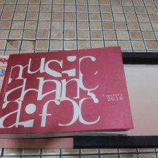 Libros: FOGUERES DE SANT JOAN 2010 - 2 CD - COMPLETO - PRESENTADO EN CAJA ESTUCHE ORIGONAL -. Lote 55803247