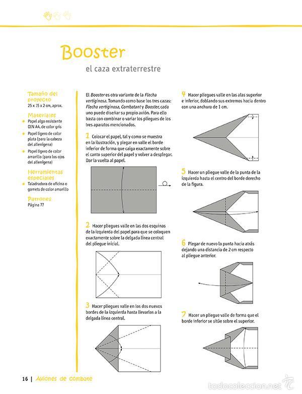 Libros: Crear y jugar con papiroflexia. 22 aviones y figuras voladoras para niños - Dominik Meißner - Foto 2 - 57803865