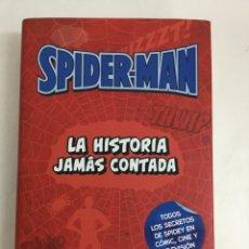 Libros: SPIDERMAN. LA HISTORIA JAMÁS CONTADA - JULIÁN M. CLEMENTE - PANINI BOOKS. Lote 59813196