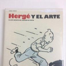 Libros: TINTÍN. HERGÉ Y EL ARTE - ZEPHYRUM EDICIONES. Lote 218481017