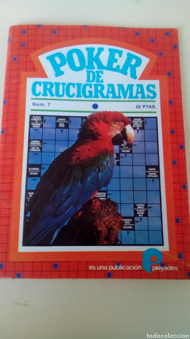 POKER DE CRUCIGRAMAS N'7 AÑO 1979 NUEVO (Libros Nuevos - Bellas Artes, ocio y coleccionismo - Otros)