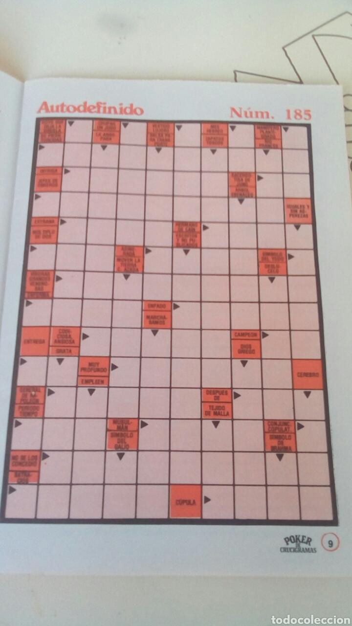 Libros: Poker de crucigramas n'7 año 1979 nuevo - Foto 2 - 66626043