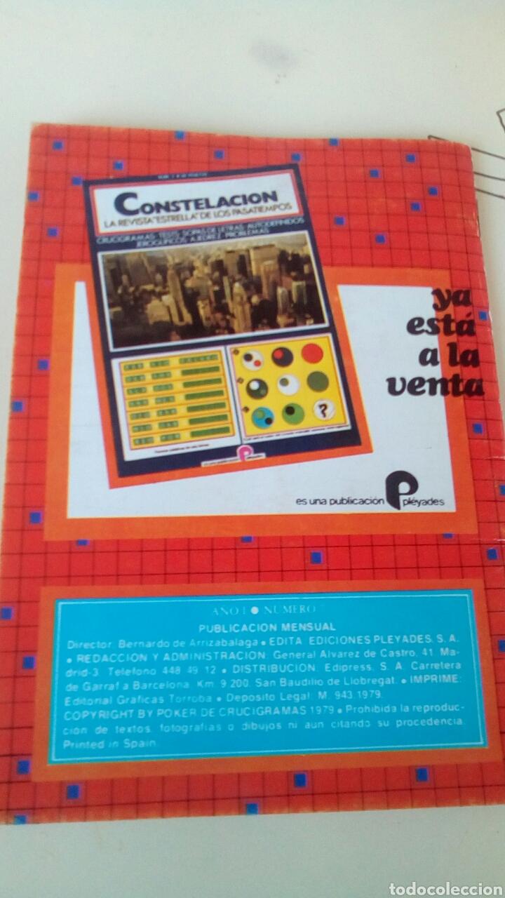 Libros: Poker de crucigramas n'7 año 1979 nuevo - Foto 4 - 66626043