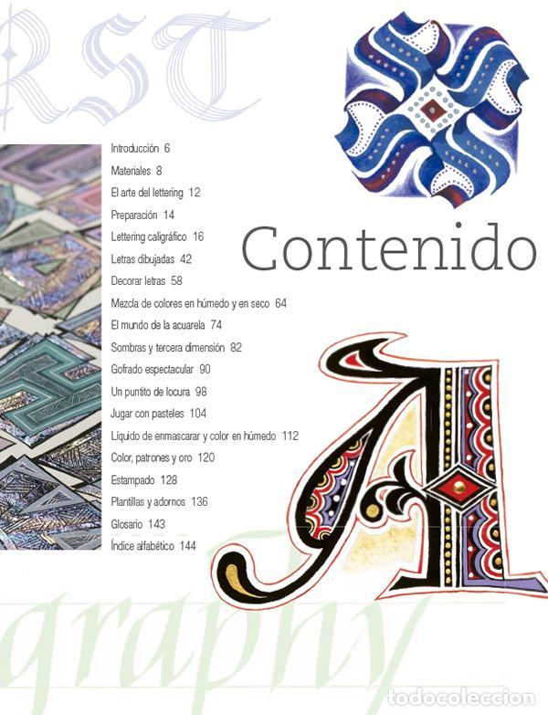 Libros: Lettering decorado con técnicas tradicionales de caligrafía - Jan Pickett - Foto 2 - 68998441