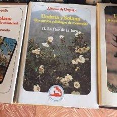 Libros: LIBRO DE CAZA.UMBRÍA Y SOLANA. Lote 174523729