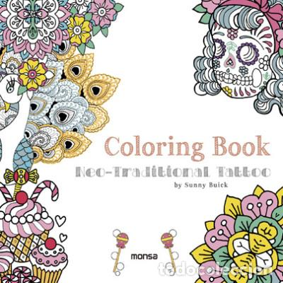 coloring book. neo-traditional tattoo instituto - Comprar Libros ...