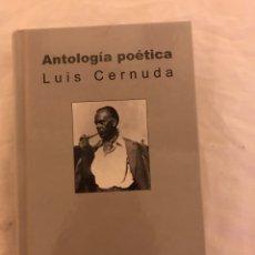 Libros: ANTOLOGÍA DE LUIS CERNUDA. Lote 77103070