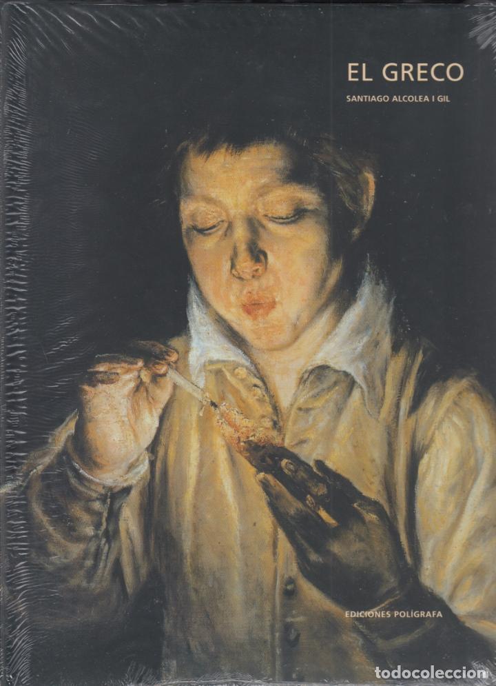 Libros: EL GRECO SANTIAGO ALCOLEA GIL ED POLÍGRAFA (2002) (1ª EDICIÓN) DOMÉNIKOS THEOTOKÓPOULOS PLATIFICADO - Foto 3 - 83016508