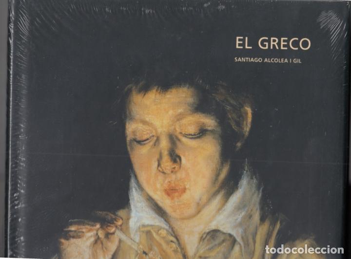 Libros: EL GRECO SANTIAGO ALCOLEA GIL ED POLÍGRAFA (2002) (1ª EDICIÓN) DOMÉNIKOS THEOTOKÓPOULOS PLATIFICADO - Foto 4 - 83016508