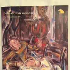 Libros: LIBRO SUBASTA EXTRAORDINARIA. 2011. SALA RETIRO. Lote 87517132
