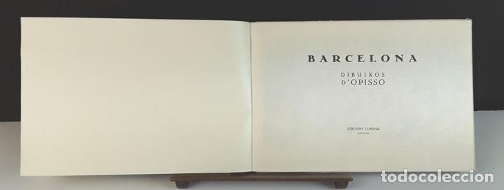 Libros: BARCELONA. DIBUIXOS D'OPISSO. EDICIONS CURIOSA. 1981. - Foto 2 - 90707875