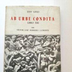 Libros: AB URBE CONDITA.. Lote 95225843