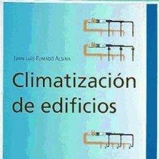 Libros: CLIMATIZACIÓN DE EDIFICIOS EDICIONES DEL SERBAL, S.A.. Lote 95777576