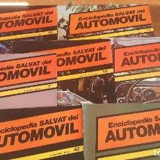 Libros: LOTE DE REVISTAS LA ENCICLOPEDIA DE EL AUTOMÓVIL. Lote 99815935