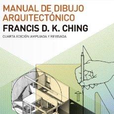 Libros: MANUAL DE DIBUJO ARQUITECTÓNICO EDITORIAL GUSTAVO GILI, S.L.. Lote 103682843