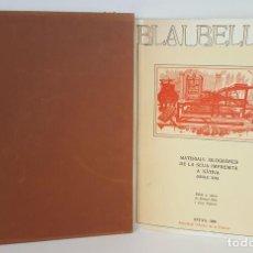 Libros: BLAI BELLVER. MATERIALS XILOGRÀFICSDE LA SEUA IMPREMTA A XÀTIVA. 1980. . Lote 104789819