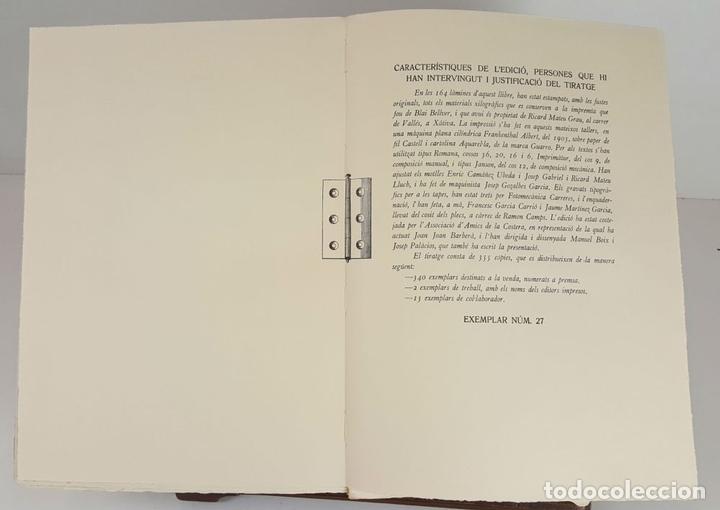 Libros: BLAI BELLVER. MATERIALS XILOGRÀFICSDE LA SEUA IMPREMTA A XÀTIVA. 1980. - Foto 6 - 104789819