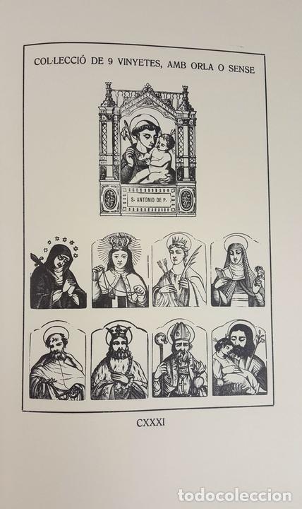 Libros: BLAI BELLVER. MATERIALS XILOGRÀFICSDE LA SEUA IMPREMTA A XÀTIVA. 1980. - Foto 9 - 104789819