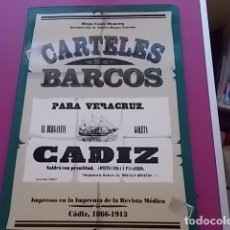 Libros: EXCELENTE LIBRO DE CARTELES DE BARCOS ANTIGUOS / DIEGO CONTE DOMECQ. Lote 105972707