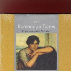 Libros: JULIO ROMERO DE TORRES FRANCISCO CALVO SERRALLER FUND MAPFRE 2007 COL. GRANDES MAESTROS PLASTIFICADO. Lote 107092239