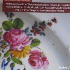 Libros: ALCORA: ANÁLISIS DE LA HISTORIA DE LA FÁBRICA DE 1805. EVOLUCIÓN DOCUMENTADA DE EDIFICIO SIGLO XVIII. Lote 107224131