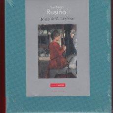 Libros: SANTIAGO RUSIÑOL JOSEP DE C LAPLANA FUNDACIÓN MAPFRE MADRID 2013 NUMEROSAS REPRODUCCION PLASTIFICADO. Lote 108448155