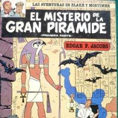 Libros: COMIC BLAKE Y MORTIMER Nº1 ELMISTERIO DE LA GRAN PIRAMIDE.. Lote 109407583