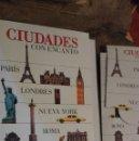 Libros: CIUDADES CON ENCANTO (PARIS, LONDRES, NUEVA YORK, ROMA, PRAGA, VIENA) GUIAS VISUALES EL PAIS-AGUILAR. Lote 110539611