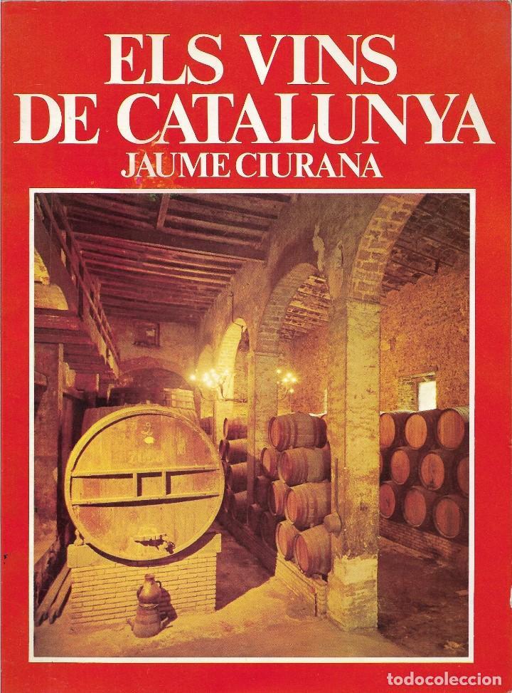 ELS VINS DE CATALUNYA - JAUME CIURANA - ANY 1980 (Libros Nuevos - Bellas Artes, ocio y coleccionismo - Otros)