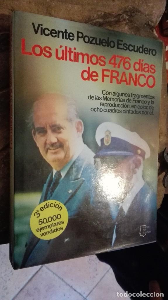 LOS ÚLTIMOS 476 DÍAS DE FRANCO - POZUELO ESCUDERO, VICENTE (Libros Nuevos - Bellas Artes, ocio y coleccionismo - Otros)