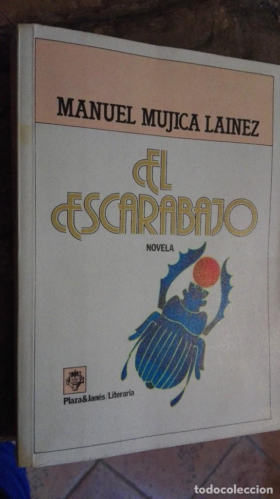 EL ESCARABAJO. NOVELA. - MÚJICA LAÍNEZ, MANUEL.- (Libros Nuevos - Bellas Artes, ocio y coleccionismo - Otros)