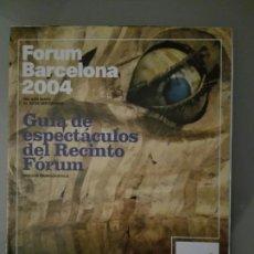 Libri: FORUM BARCELONA. Lote 114341068