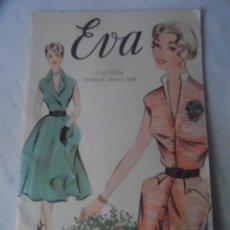 Libros: EVA REVISTA MODA 1954 CURSO CONFECCION Y CORTE ACADEMIA A E I SAN SEBASTIAN. Lote 152827826