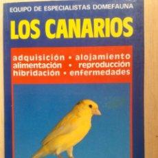 Libros: LOS CANARIOS. NUEVO. Lote 122005411